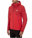 Kurtka The North Face Fuse Uno Jacket salsa red/ tnf black