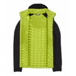 Kurtka The North Face Thermoball Hybrid Hoody - macaw green/tnf black - środek