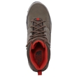 Buty damskie The North Face Storm Strike WP - weimaraner brown/zion orange - widok z góry