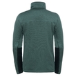 Bluza The North Face Canyonlands Full Zip - duck green heather - tył