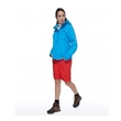 Kurtka damska The North Face Venture Jacket - clear lake blue heather - przód