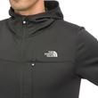 Polar The North Face Lixus Stretch Full Zip Hoodie- tnf black