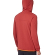 Polar The North Face Lixus Stretch Full Zip Hoodie- rosewood red