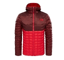 Kurtka The North Face Thermoball Hoodie - tnf red/sequoia red - przód