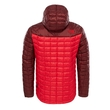 Kurtka The North Face Thermoball Hoodie - tnf red/sequoia red - tył