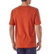 Koszulka Patagonia Eat Local Upstream Cotton T-Shirt - roots red - tył