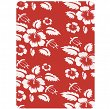 Chusta 4 Fun Standard 8w1 - flower red