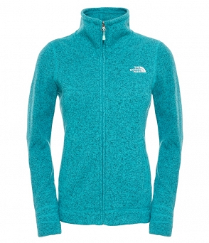 Polar damski The North Face Crescent Sunset Full Zip
