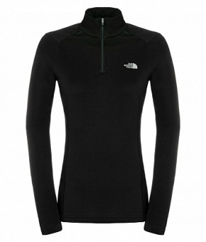 Koszulka damska The North Face Warm Long Sleeve Zip Neck