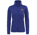 Bluza damska The North Face Kyoshi FZ Jacket - bright navy dark heather