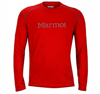 Koszulka Marmot Windridge with Graphic LS