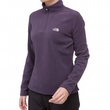 Polar damski The North Face 100 Glacier 1/4 Zip -grant purple