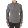 Polar damski The North Face 100 Glacier 1/4 Zip - graphite