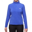Polar damski The North Face 100 Glacier 1/4 Zip - vibrant blue