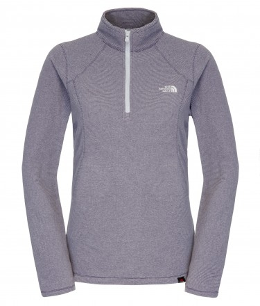 Polar damski The North Face 100 Glacier 1/4 Zip