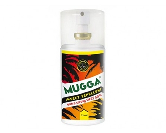 Repelent na insekty Mugga Spray 50% 75ml