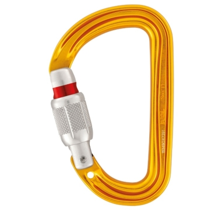 Karabinek Petzl Sm'D screw lock