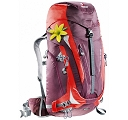 Plecak Deuter ACT Trail Pro 38 SL - aubergine/fire