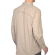 Koszula The North Face Ventilation Shirt LS- dune beige plaid tył
