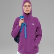 Kurtka damska The North Face Nimble Hoodie '17 - wood violet