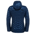Kurtka damska The North Face ThermoBall Hoodie - cosmic blue - tył