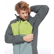 Kurtka The North Face Sequence Jacket - spruce green/laurel wreath green/macaw green - wywietrznik pod pachami