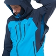 Kurtka The North Face Dihedral Jacket - blue aster/urban navy - wentylacja pod pachami