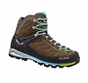 Buty damskie Salewa MTN Trainer Mid GTX - tarmac/swing green