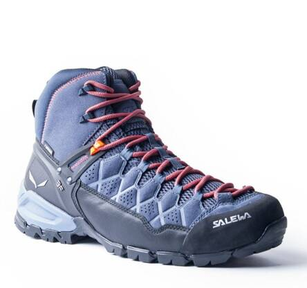 Buty Salewa Alp Trainer Mid GTX - ombre blue/fluo orange