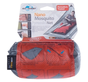 Moskitiera Sea To Summit Nano Mosquito Pyramid Net Permethrin Treated