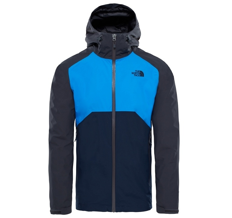 Kurtka The North Face Stratos Jacket - asphalt grey/bomber blue/urban navy