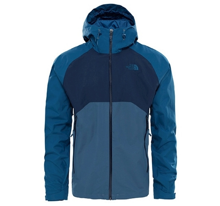 Kurtka The North Face Stratos Jacket - conquer blue/urban navy/monterey blue