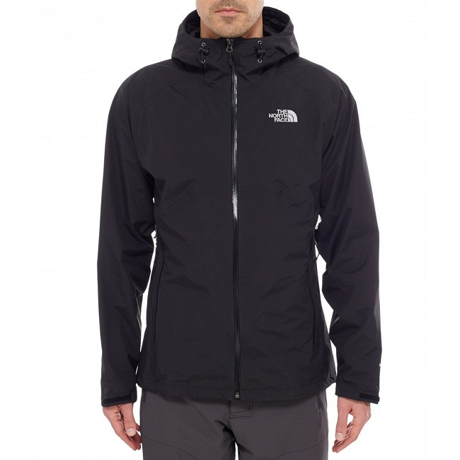 Kurtka The North Face Stratos Jacket - tnf black - przód
