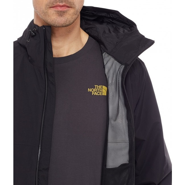 Kurtka The North Face Stratos Jacket - tnf black - podszewka