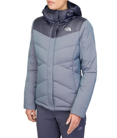 Kurtka damska The North Face Kailash Hoodie - greystone blue