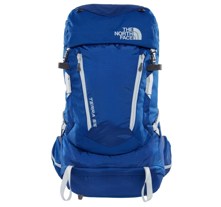 Plecak damski The North Face Terra 55 - sodalite blue/high rise grey