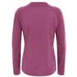 Koszulka damska The North Face Reaxion Amp LS Crew - amaranth purple heather - tył