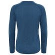 Koszulka damska The North Face Reaxion Amp LS Crew - ink blue heather - tył