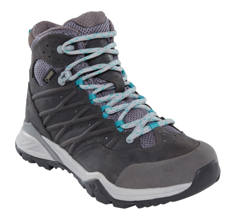 Buty damskie The North Face Hedgehog Hike II Mid GTX - q-silver grey/porcelain green