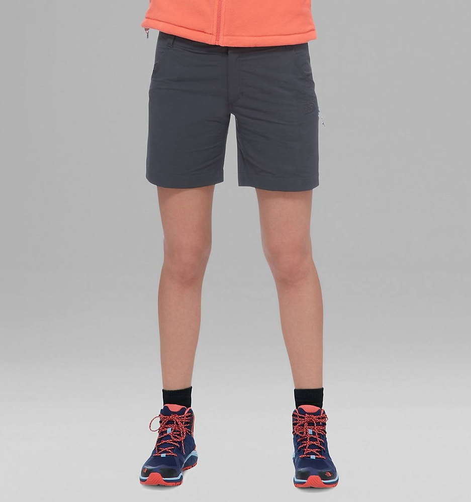 Spodenki damskie The North Face Exploration Short - asphalt grey - przód