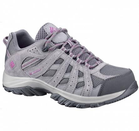 Buty damskie Columbia Canyon Point Waterproof - charcoal/intense violet