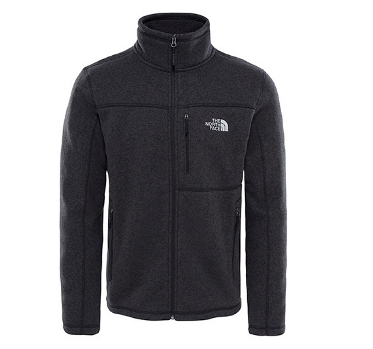 Bluza The North Face Gordon Lyons Full Zip - tnf black heather