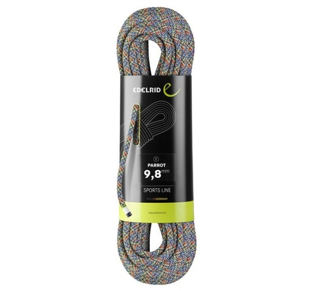 Lina dynamiczna Edelrid Parrot 9,8mm - assorted colour