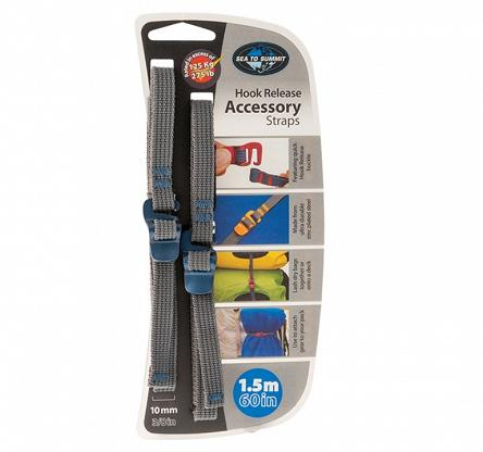 Trok Sea To Summit Accessory Straps with Hook Release - blue