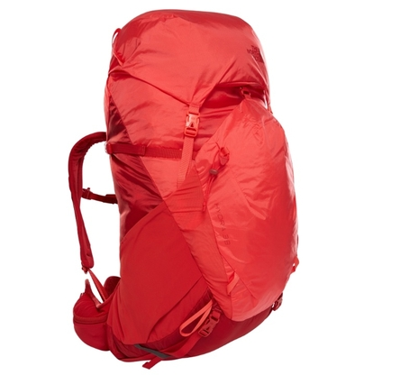 Plecak damski The North Face Hydra 38 RC - pompeian red-juicy red
