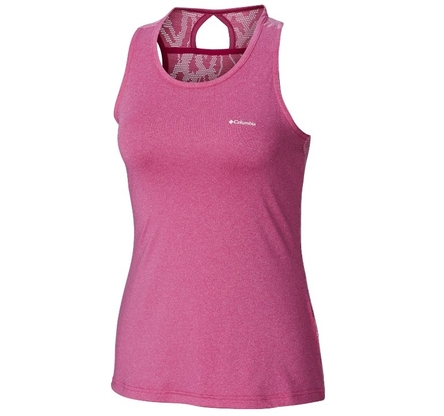 Koszulka damska Columbia Peak To Point Tank - haute pink
