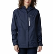 Kurtka damska Columbia Pouring Adventure II Jacket - nocturnal/white zip
