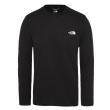 Koszulka The North Face Reaxion Amp L/S Crew - tnf black