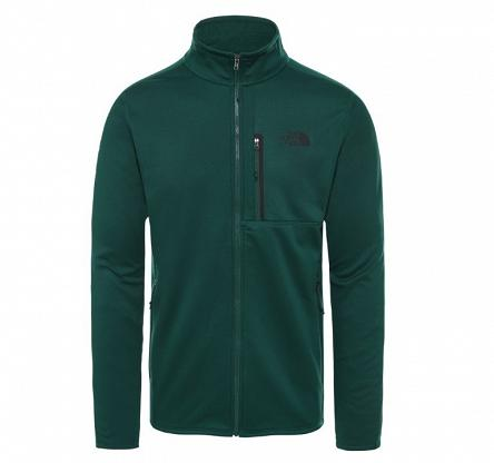 Bluza The North Face Canyonlands Full Zip '19 - night green