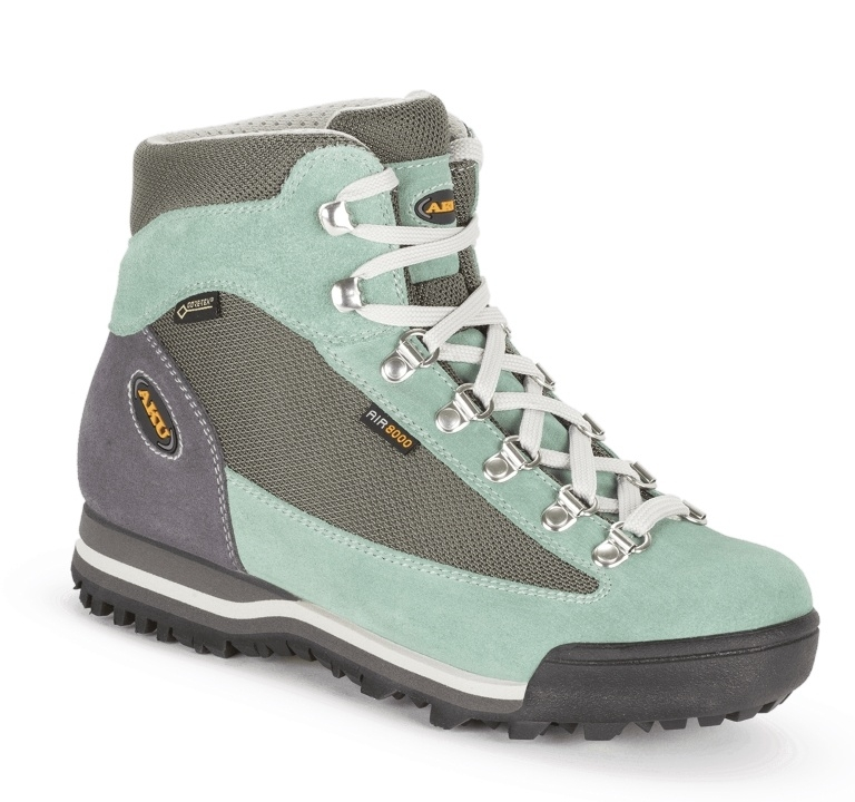 Buty damskie Aku Ultra Light Micro GTX - aquamarine/grey